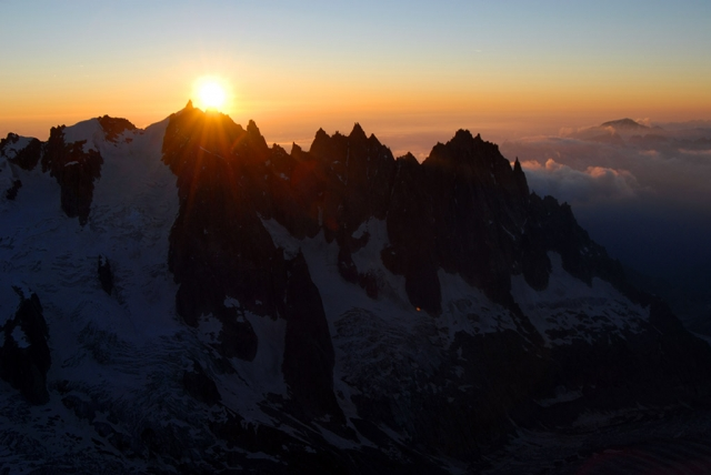 Panoramic flight 15 min. Grandes Jorasses